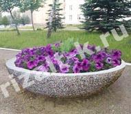 Бетонные цветочницы, вазоны из бетона